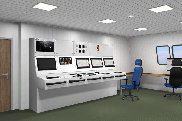 Unitest Marine Simulators Control Room