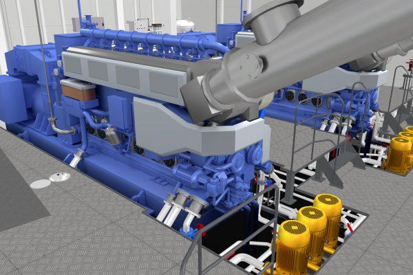 Unitest Marine Simulators Diesel Generator