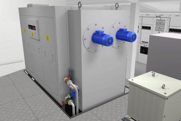 Unitest Marine Simulators FW Fwd/ Aft Cooling system SW Cooling System
