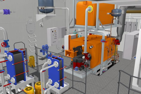 Unitest Marine Simulators Heat Recovery System