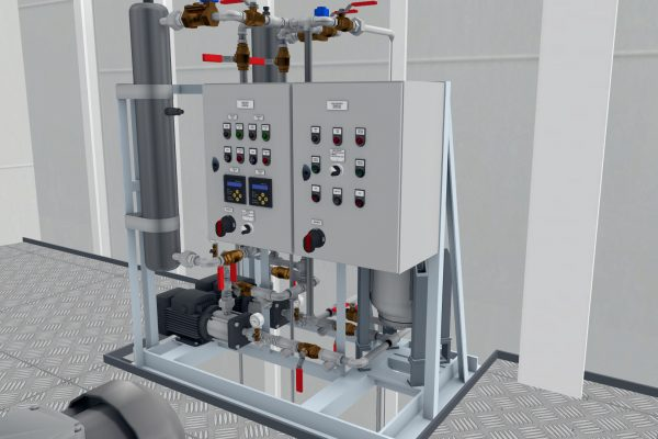 Unitest Marine Simulators Sanitary Water System