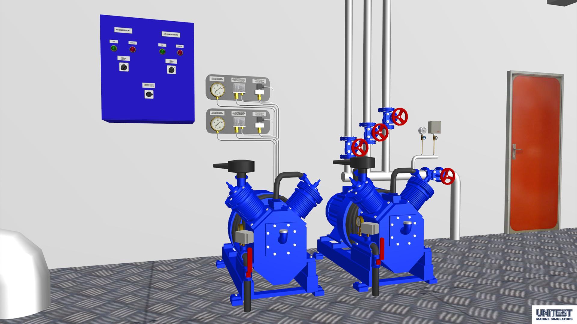 Mer3d unitest marine simulators for 3d room simulator