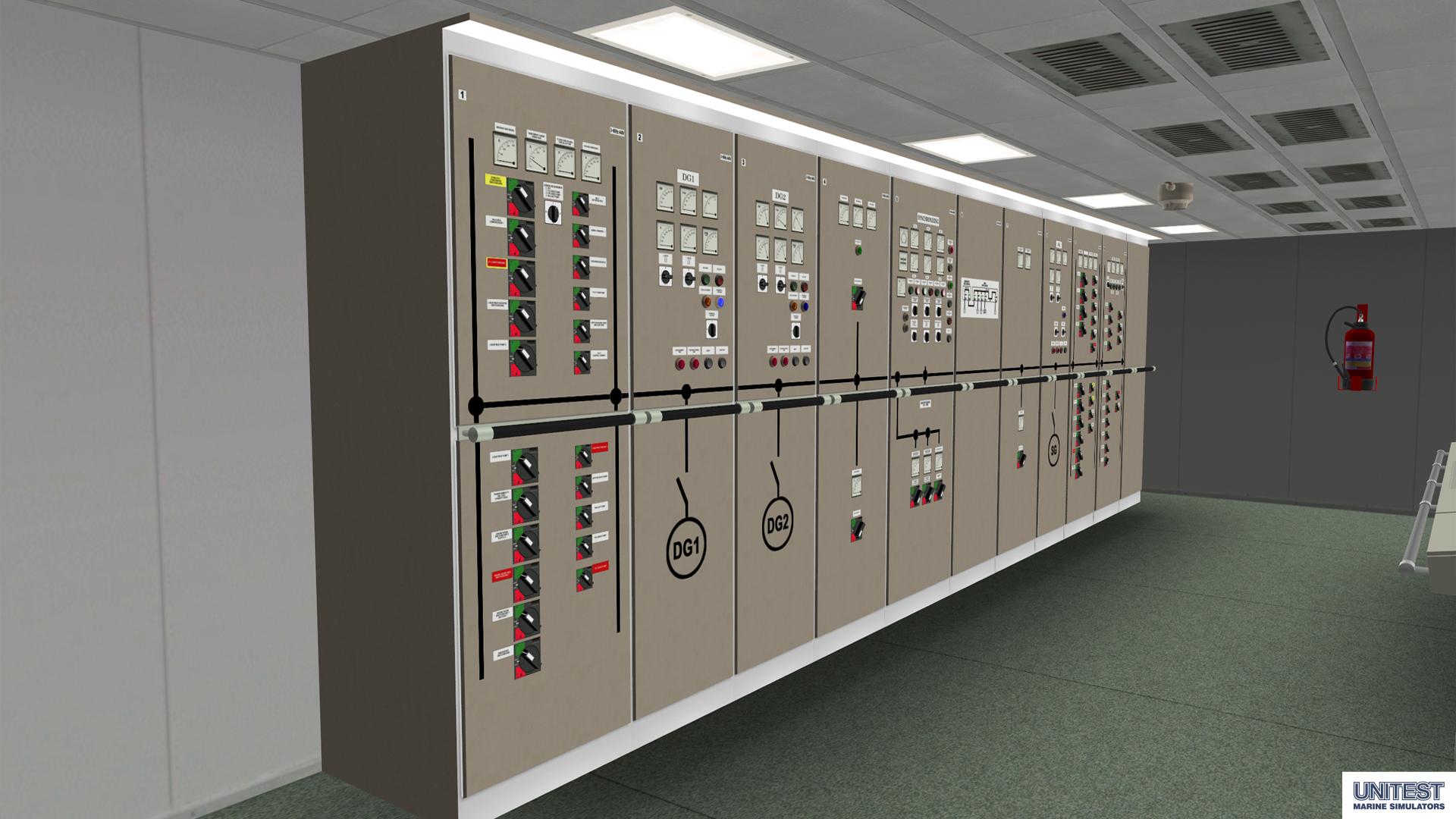 mer3d engine room simulator