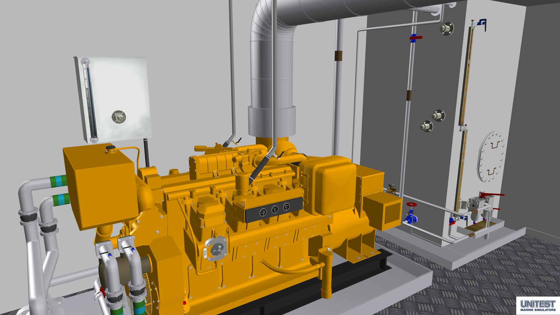 Psv3d unitest marine simulators for 3d room simulator