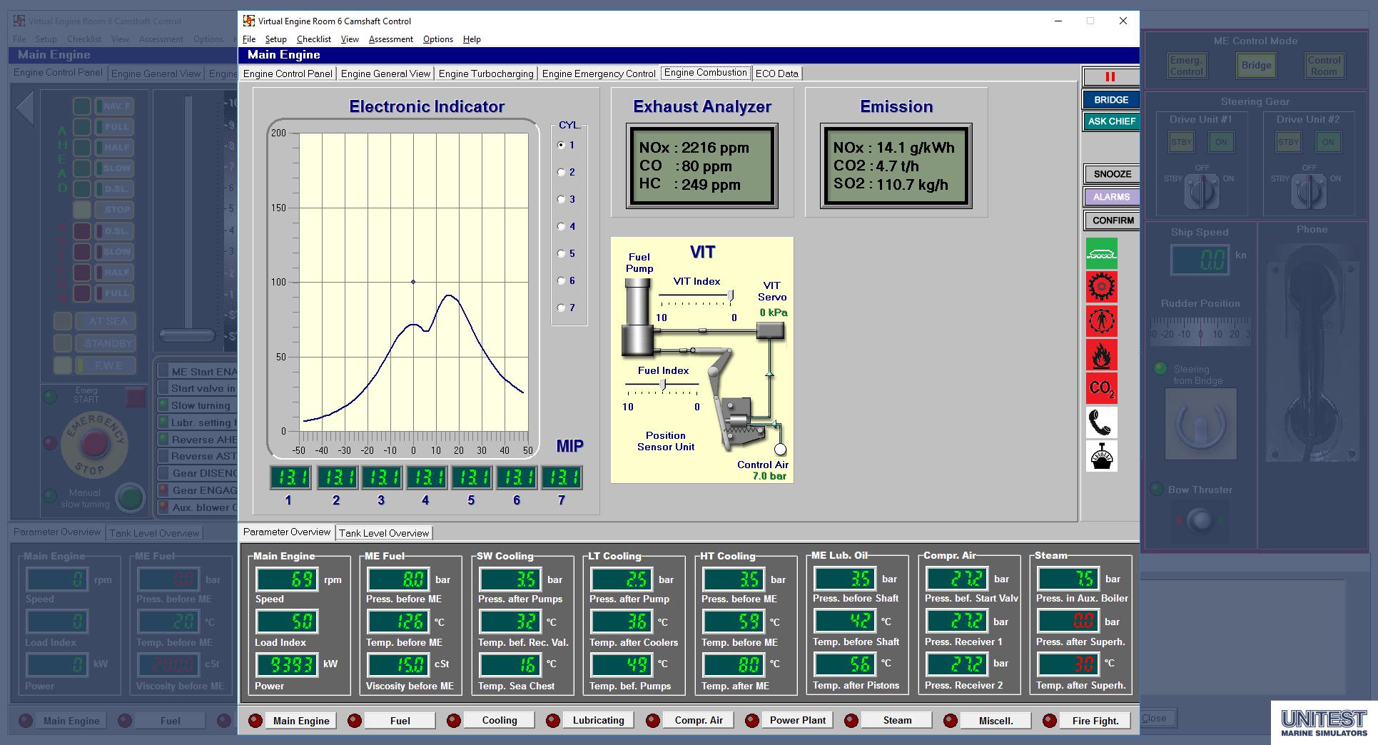 Ver unitest marine simulators for Room design generator