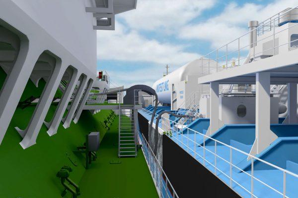 Ship-to-ship bunkering
