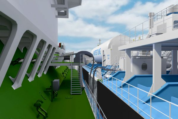 Ship-to-ship bunkering