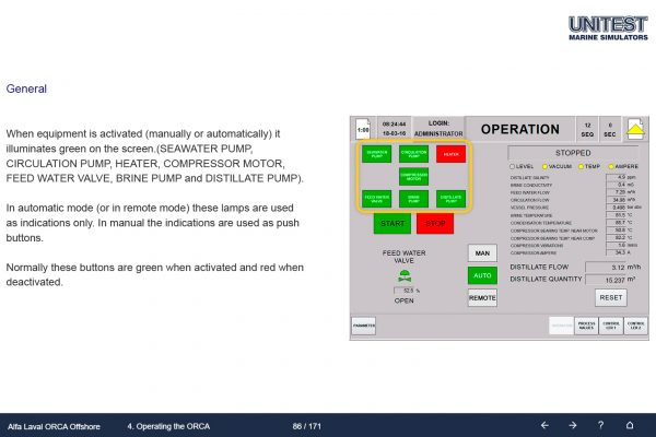 Marine Training Software Orca